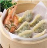 _Baomi_ Shrimp jiaozi dumplings
